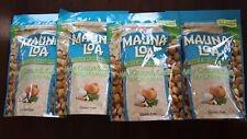 Hawaii Mauna Loa Maui Onion & Garlic Macadamia Nut-4 Bags (10 oz per bag)