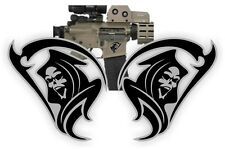 AR15 Lower Tribal GRIM REAPER Decals  Magazine Stickers  Mag Black Ops (2x)