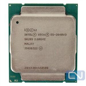 Intel Xeon E5-2640 v3 2.6 GHz 20MB SR205 LGA 2011-3 Fair Grade CPU Processor