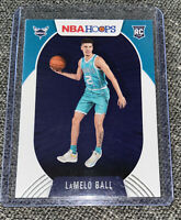 2020-21 PANINI NBA HOOPS LAMELO BALL BASE ROOKIE RC #223 CHARLOTTE HORNETS 🔥🏀
