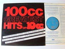 100CC - GREATEST HITS of 10CC - LP 1975 English pressing UKAL 1012 godley creme