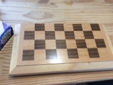 Holzschachbrett