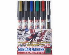 Mr.Hobby GMS121 Gundam Marker Gundam Metallic Marker Set (6 colori) modellismo