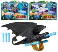 How to Train your Dragon Toothless Wrist Launcher Lightfury Role-Play 4+ Toy Fun