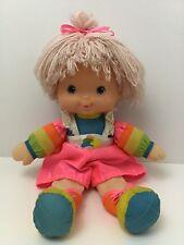 Rainbow Brite Tickled Pink Baby Doll Hallmark Mattel 1983 Vintage