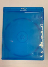 5 Empty Standard Blue Replacement Boxes / Cases For Blu-Ray Disc Movies
