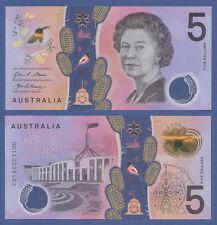 Australia/australia 5 dollars (20) 16 (2016) polímero UNC p. New