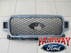 18 thru 20 F-150 OEM Genuine Ford ME Abyss Gray & Black Grille Grill - NEW