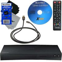 Samsung BD-J5100 Smart Curved Disk Blu-ray DVD Player +Cleaner +HDMI Cabl +Cloth