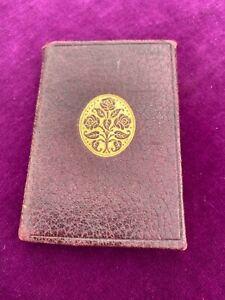 Vintage Omar Khayyam Rubaiyat. Leather Bound Miniature Book