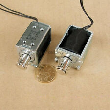 DC 4.5V 40g//3mm Open Frame Actuator Push Pull Solenoid ElectromagnetCW