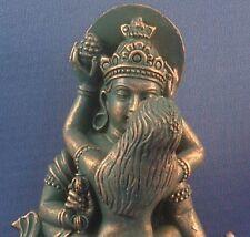 Shiva Shakti or Buddha Shakti Green Bronze Statue Yab Yum Tantric Figurine #SS4