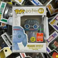 """Funko Pop!Harry Potter Moaning Myrtle #61 2018 SDCC Rare """"MINT"""" With Protector."""