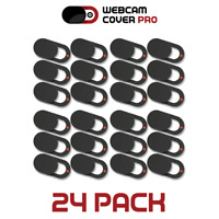 24 pack RED DOT Webcam Cover 0.92mm Ultra-Thin Laptop Web Camera Cover Slide