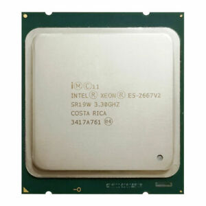 Intel Xeon E5-2667 V2 E5-2667V2 3.3GHz 8-Core 25MB LGA2011 CPU Processor