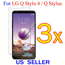 3x Clear Screen Protector Guard Cover Shield Film For LG Q Stylo 4 / Q Stylus