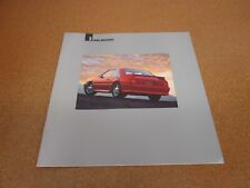 1991 Ford Mustang LX GT DELUXE sales brochure dealer catalog literature