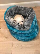 CHIHUAHUA PUPPY DOG PET CAT BED SNUGGLE SACK SAK BAG 🇬🇧 UK