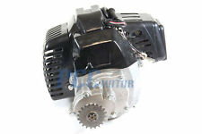 NEW  BLACK COMPLETE ENGINE 49CC 2 STROKE SUPER BIKE ELE H EN04R-1