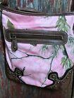 pink realtree camo purse crossbody................c4