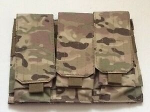 Outdoor Tactical Triple Airsoft Mag MOLLE Magazine Pouch