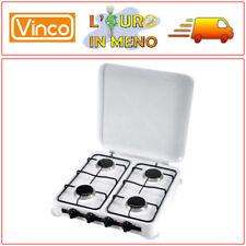 VINCO FORNELLO A GAS 4 FUOCHI BRUCIATORE PROF. PER CAMPEGGIO 76004 FORNELLINO