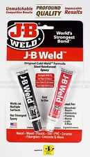 J-b Weld Original Formula Steel Reinforced Epoxy Twin Pack