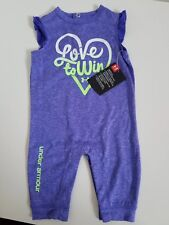 Under Armour Purple Two Piece Outfit Out Shine Them All Size 6-9 Months NWT