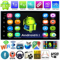 Android8.1 Quad Core 2Din 7in GPS Navi Car Stereo MP5 Player FM Radio for TOYOTA