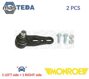 2x MONROE FRONT OUTER LOWER SUSPENSION BALL JOINT PAIR L29507 P NEW