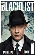 NBC'S THE BLACKLIST #1 PHOTO COVER TITAN COMICS JAMES SPADER TV SERIES 1ST PRINT