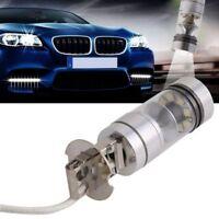 Hottest 2Pcs H3 6000K 100W LED 20-SMD High Power Fog Driving DRL Light Bulbs HID