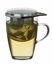 Teeglas-Set TEA FOR ONE Teeglas Teetasse Teezubereiter SIMAX von GasXpert