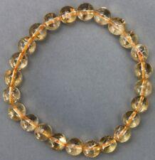 """Bracelet Citrine 8 mm """"Médium"""""""