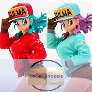 BULMA II Banpresto Dragon Ball Glitter & Glamours Statue B Special Color