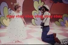 Original Photo 35mm Slide Sonny & Cher Show Sonny & Chastity Rare! # 1
