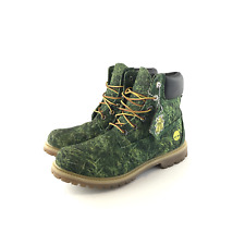 Timberland Bee Line Grass Boots Size 7 8 1/2 Green Billionaire Boys Club BBC