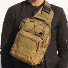 Men Military Tactical Backpack Outdoor Sling Bag Shoulder Chest Bag Travel Pack