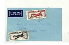 SS80 1948 PORTUGUESE COLONIES Mozambique GB Commercial Airmail Taxe Percue Issue