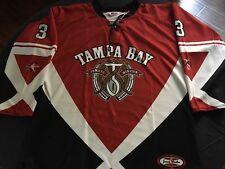 Jameis Winston Hockey Style Jersey L Large Speedline Tampa Bay Buccaneers NFL