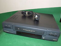 MITSUBISHI HS-M20V Video Cassette Recorder VHS VCR BLACK Tape FAULTY / SPARES