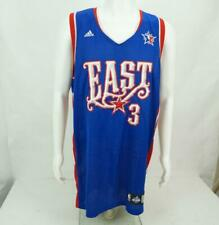 Adidas Authentics NBA East All Star Jersey Caron Butler Signed Blue White XL