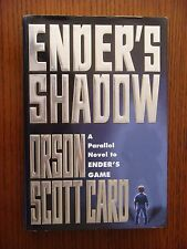 Orson Scott Card - Ender's Shadow - SIGNED - Hardcover 1st Edition 1999