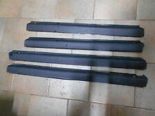 Set modanature interne Fiat Uno 5 porte, colore grigio scuro  [967.19]