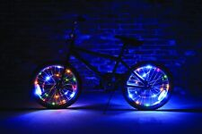 Wheel Brightz 1 Set of MULTICOLORED Lights LED Bicycle Bike For 1 Wheel