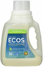 Earth Friendly Products Ecos Liquid Laundry Detergent, Lemongrass 50 oz
