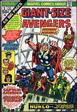 Marvel Giant-Size Avengers #1 (1974) - No stock images