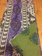 Urban Outfitters Magical Thinking Boho Stripe Purple Blue Green Queen Tie Duvet
