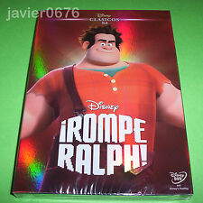 ROMPE RALPH CLASICO DISNEY 54 - DVD NUEVO PRECINTADO SLIPCOVER