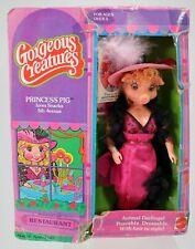 "Gorgeous Creatures Princess Pig Doll #1740 Excellent in Box 1979 Mattel 7.5"""